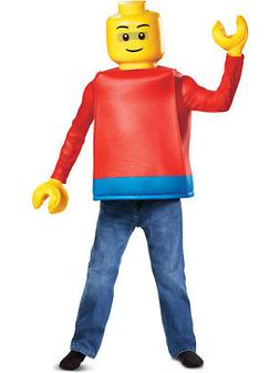 Child's Iconic LEGO� Man Minifigure Costume