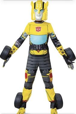 Child's Transformers Bumblebee Converting Costume, Size M ,
