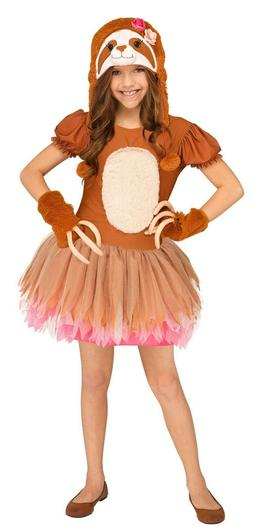Child Sassy Sloth Animal Costume