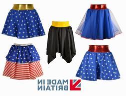 CHILDREN IN NEED Girls Superhero Skirt FANCY DRESS Costume s