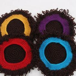 Children Wig Hat Costume Accessories Wavy Hair Cap Headdress