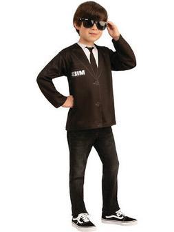 Childs Men In Black MIB Agent Costume Shirt