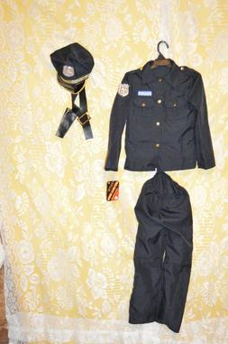 Childs Policeman Costume Outfit by Aeromax Kids Dress Up Age