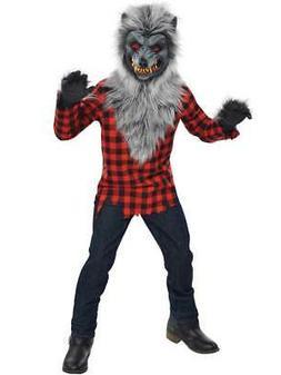 Childs Teen Hungry Howler Werewolf Halloween Wolf Fancy Dres