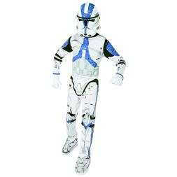Star Wars Clone Trooper Boys Kids Child Jumpsuit Costume