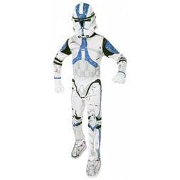 Clone Trooper Costume Kids Star Wars Halloween Fancy Dress