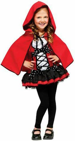 Fun World Costumes Sweet Red Riding Hood Kids Costume, Multi