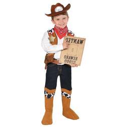 Amscan Cowboy Sheriff Costume - Child Small  - NWT Free Ship