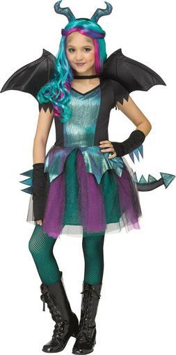Fun World - Dark Dragon - Child Girl's Costume