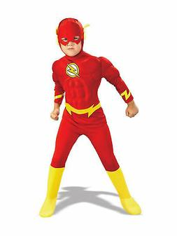 DC Comics The Flash Muscle Chest Deluxe Toddler/Child Costum