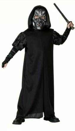 Harry Potter Death Eater Child Costume Size Large 10-12 Year