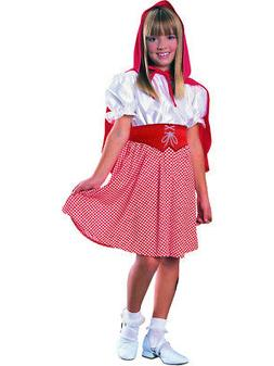 Deluxe Child Girls Red Riding Hood Costume Medium 8-10