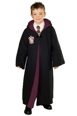 Harry Potter Deluxe Gryffindor Robe Girls Child Costume