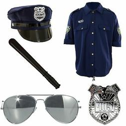 Deluxe Police Officer Costume Accessories Adult Standard Siz