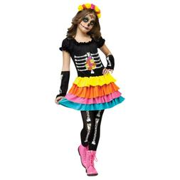Dia De Los Muertos Girl Kids Costume | Fun World 124082