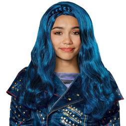 Child's Girls Disney Descendants 2 Evie Isle Look Wig Costum