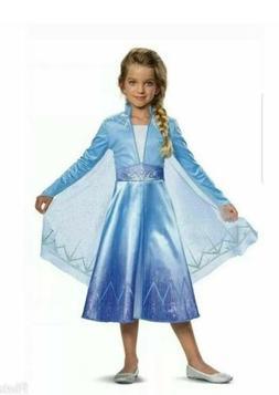 Disney FROZEN 2 II ELSA Deluxe Child Costume NEW Frozen 2 Mo
