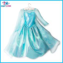 Disney Frozen's Elsa Costume for Kids sizes 3-10 brand new w