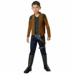 Disney Star Wars HAN SOLO Child Kids Halloween Costume Sizes