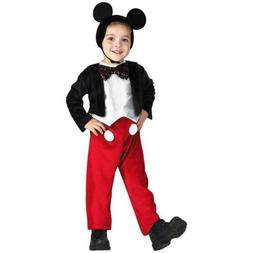 Disney Mickey Mouse Deluxe Kids size L 4/6 Licensed Costume