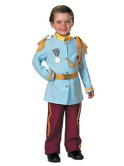 Disney Prince Charming Child Costume, 4-6, Blue by Disguise