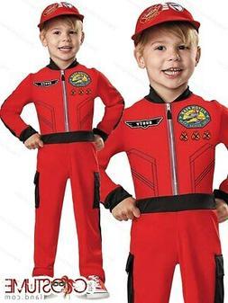 Disney Racer Boys Costume Toddler Fancy Racer Dress Kids Hal