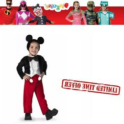 Disguise Disneys Mickey Mouse Deluxe Child Costume Halloween