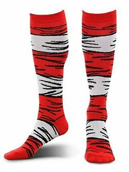 Dr Seuss Cat In The Hat Child Costume Socks