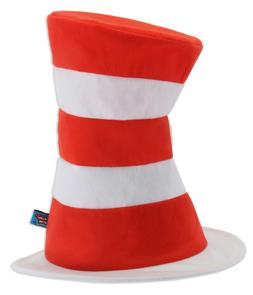 elope Dr Seuss The Cat in the Hat Costume Hat Red and White