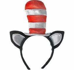 Dr. Seuss Cat in the Hat Cat Ears Headband Kids, Halloween C