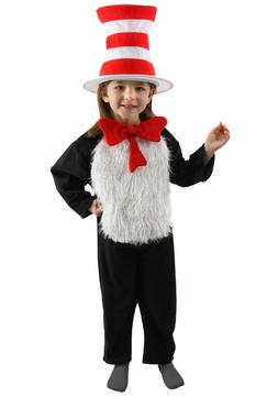 Dr. Seuss - The Cat In The Hat Deluxe Child Costume - Elope