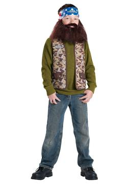 Duck Dynasty - Willie Child Costume - Small