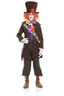 Electric Mad Hatter Deluxe Child Costume with Pants, 00672,