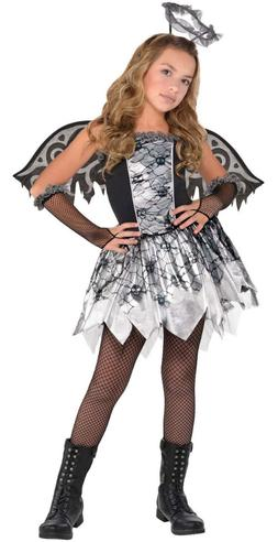 amscan Fallen Angel Child Costume - Large 12-14 NEW