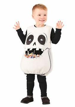 Feed Me Skeleton Costume for Kids