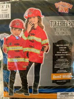 Firefighter Halloween Costume Child Small 4 6 Amscan 848301