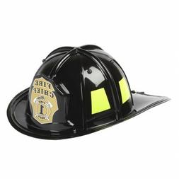 Children's Firefighter Helmet, One Size, Black