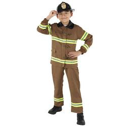 Dress Up America Fireman Costume for Kids - Role Play Firefi