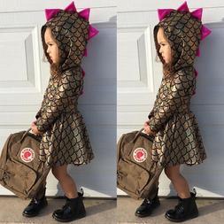 Pudcoco <font><b>Girl</b></font> Dress Toddler <font><b>Kid<