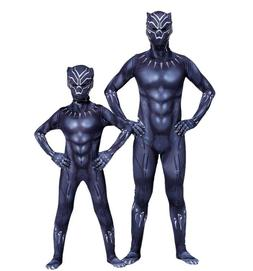 <font><b>Kids</b></font> Adult Black Panther Cosplay <font><