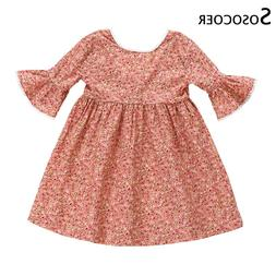 SOSOCOER <font><b>Kids</b></font> Dresses for Girls Dress Pa