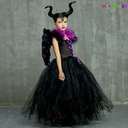 <font><b>Kids</b></font> Maleficent Evil Queen <font><b>Girl
