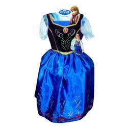 Disney Frozen Anna Child Girls Costume Size 4-6 NEW