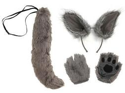 Full Wolf Costume Bundle for Adults & Kids