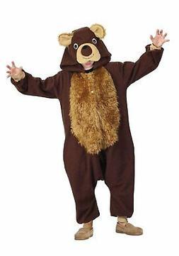 Funsies Bailey Bear Fleece Jumpsuit Halloween Costume Child