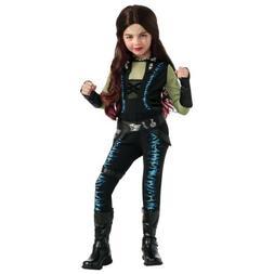 Gamora Costume Kids Guardians of The Galaxy Superhero Hallow