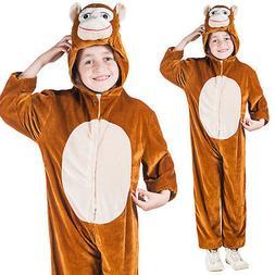 Girls & Boys Monkey Costume World Book Day Week Fancy Dress