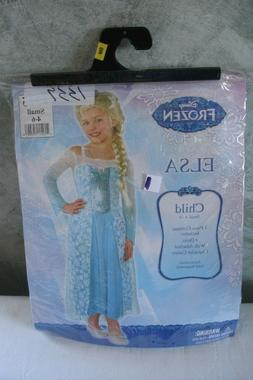 girls elsa costume frozen small 4 6
