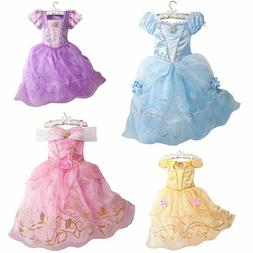 Girls Party Dress Kids  Halloween Costume Baby Girl Princess