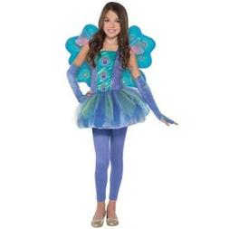 Amscan Girls Princess Peacock Child's Costume - NWT Free S